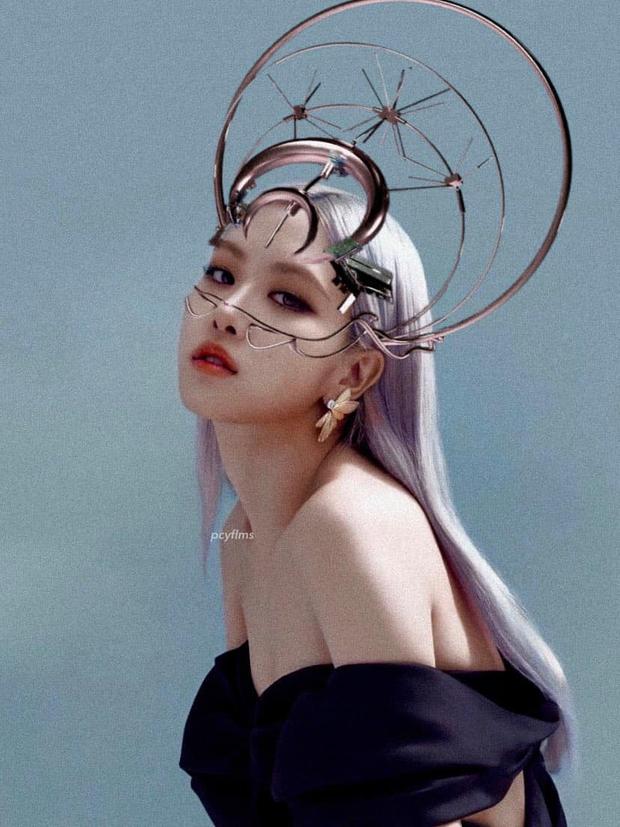 Concept mặt nạ hoa lá của aespa mà rơi vào tay nữ idol này thì cả nhóm bị diệt gọn, đến BLACKPINK cũng không đọ lại - Ảnh 10.