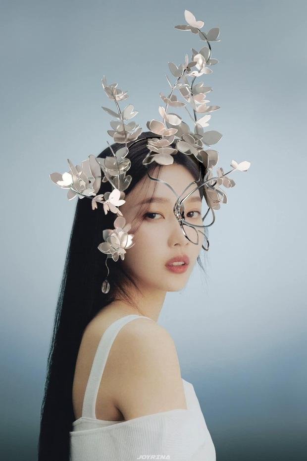 Concept mặt nạ hoa lá của aespa mà rơi vào tay nữ idol này thì cả nhóm bị diệt gọn, đến BLACKPINK cũng không đọ lại - Ảnh 12.
