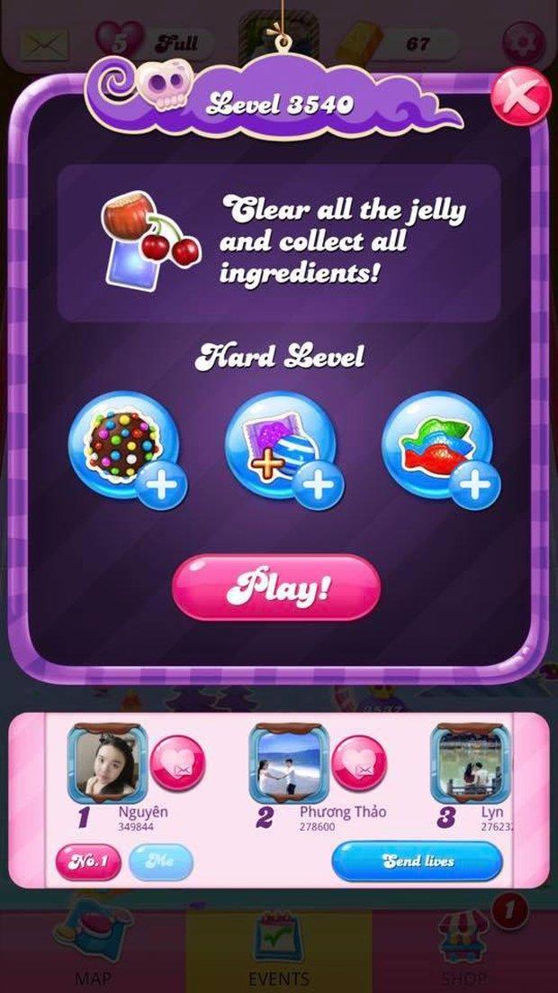 Vừa có thông tin tổ chức giải đấu Candy Crush Saga, dân tình liền khoe ngay thành tích khủng - Ảnh 3.