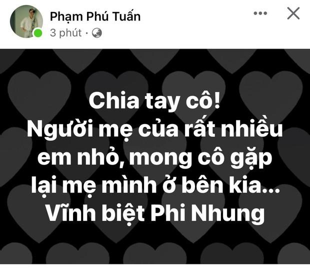 Dân mạng bàng hoàng khi nghe tin ca sĩ Phi Nhung qua đời: Chia tay cô, người mẹ của rất nhiều em nhỏ! - Ảnh 10.