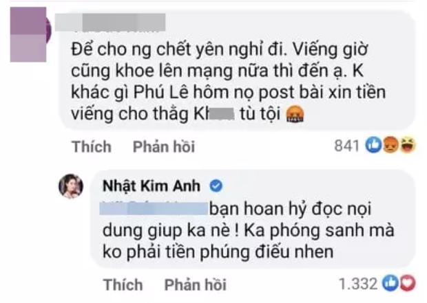Netizen chỉ trích Nhật Kim Anh vì khoe tiền phúng điếu Phi Nhung, chính chủ vội phản ứng ngay - Ảnh 3.