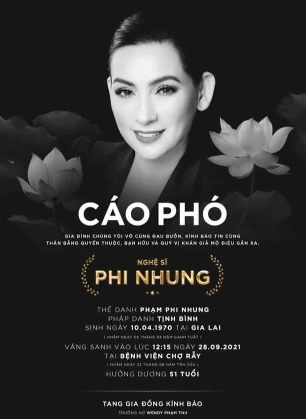 BV Chợ Rẫy thông tin quá trình điều trị Covid-19 của Phi Nhung, làm sáng tỏ tin đồn nữ ca sĩ qua đời từ 1 tháng trước - Ảnh 6.