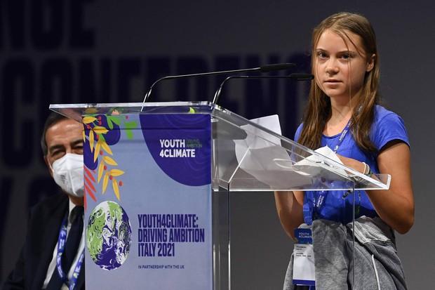 Chiến binh khí hậu Greta Thunberg lại buông lời sát thương, nạn nhân lần này là dàn nguyên thủ quốc gia quyền lực nhất thế giới - Ảnh 1.