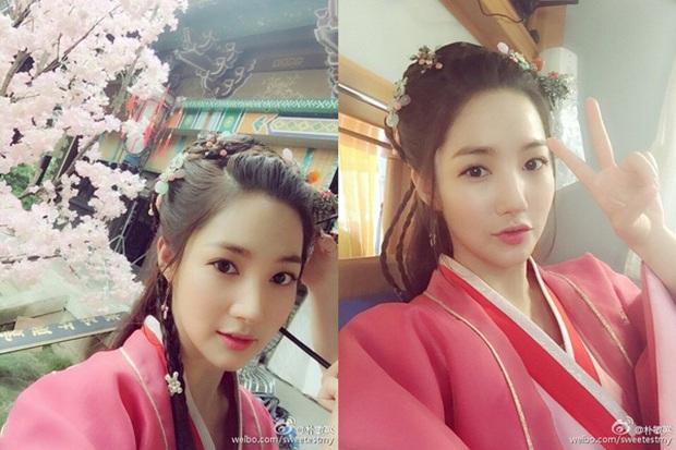 Mỹ nhân Hàn trong tạo hình phim cổ trang Trung Quốc: Park Min Young đẹp xuất sắc, Yoona bị dìm vì trang phục - Ảnh 5.