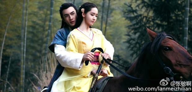 Mỹ nhân Hàn trong tạo hình phim cổ trang Trung Quốc: Park Min Young đẹp xuất sắc, Yoona bị dìm vì trang phục - Ảnh 6.