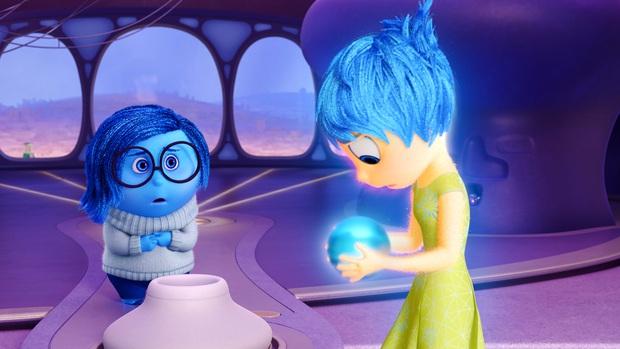 Chả ai ngờ bom tấn Inside Out của Pixar quá đen tối: Nữ chính thì ra bị trầm cảm, cái kết của nhân vật cực kỳ sâu sắc! - Ảnh 2.