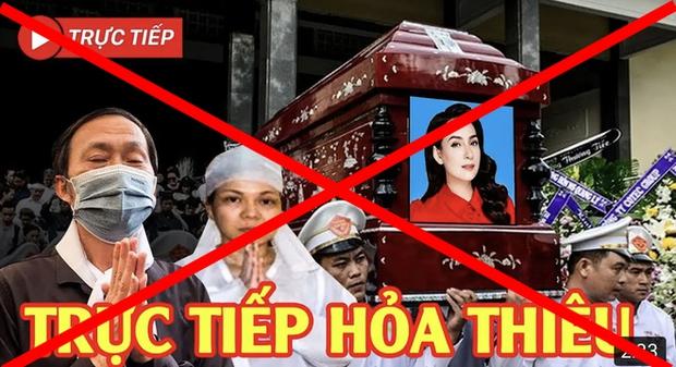 Tràn lan hình ảnh, livestream giả lễ tang Phi Nhung trên MXH, người quá cố bị đem ra bàn tán gây phẫn nộ - Ảnh 3.