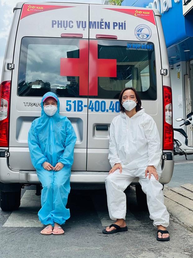 NS Việt Hương chuyển nóng 400 triệu mua xe cứu thương thứ 5 trong tháng, công khai nhận 192 triệu đồng từ 1 nghệ sĩ Vbiz? - Ảnh 3.