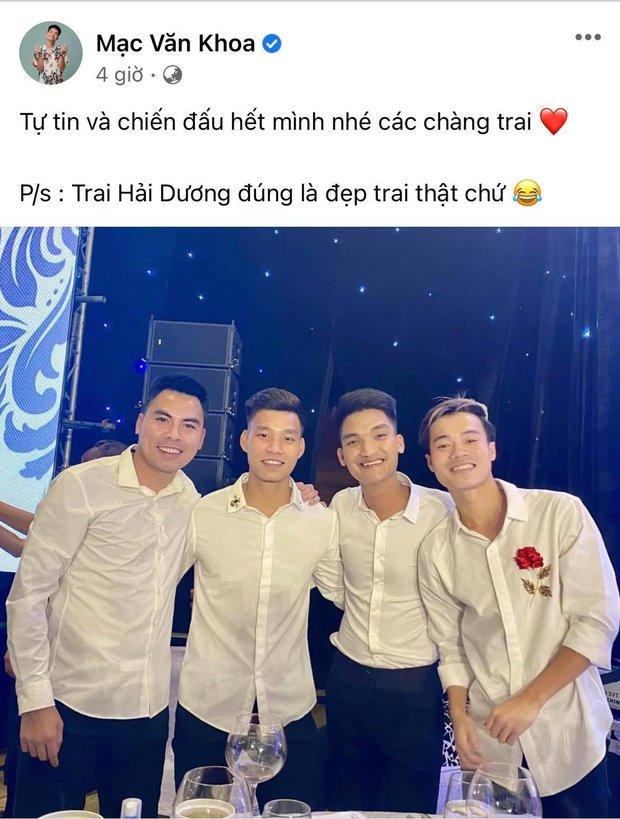 Cả showbiz Việt tiếp lửa cho tuyển Việt Nam trước giờ G: Anh Đức chuẩn bị mồi ngon sẵn sàng, hội Hoa hậu chiếm spotlight - Ảnh 13.