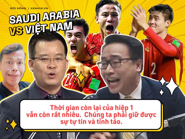 Rổ quote đi vào lòng người của bộ đôi BLV Biên Cương - Tuấn Anh ở trận Việt Nam gặp Saudi Arabia - Ảnh 7.