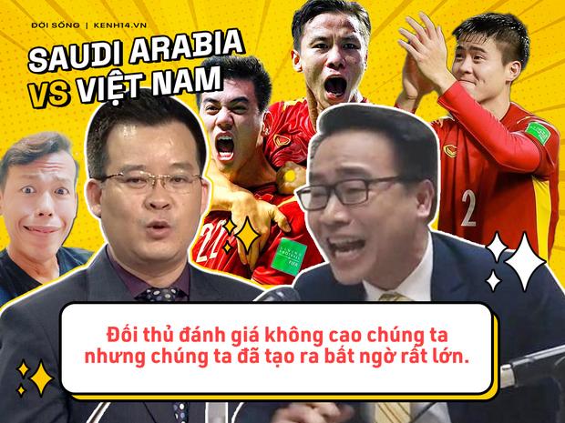 Rổ quote đi vào lòng người của bộ đôi BLV Biên Cương - Tuấn Anh ở trận Việt Nam gặp Saudi Arabia - Ảnh 9.