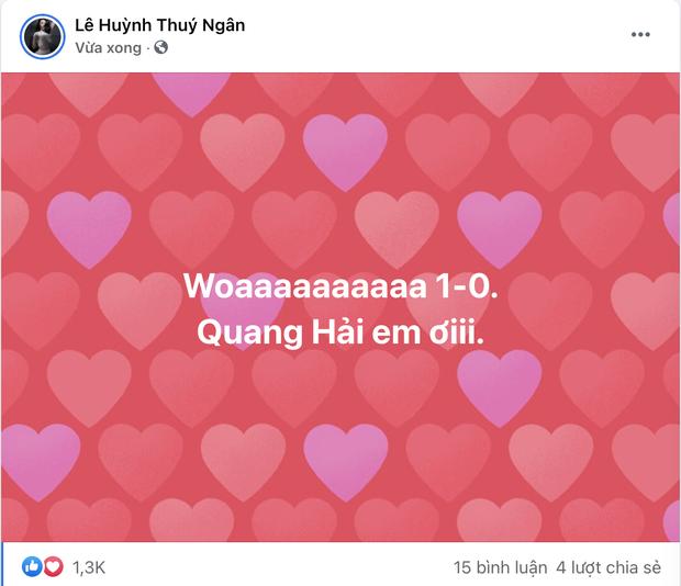 Tuyển Việt Nam ghi bàn mở tỉ số ngay 3 phút đầu giờ, dàn sao Running Man và cả showbiz vỡ oà: Quá đỉnh! - Ảnh 5.