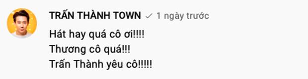Netizen lại ùa vào đòi sao kê khi thấy Trấn Thành bình luận dưới kênh YouTube của danh ca Hoàng Oanh - Ảnh 2.