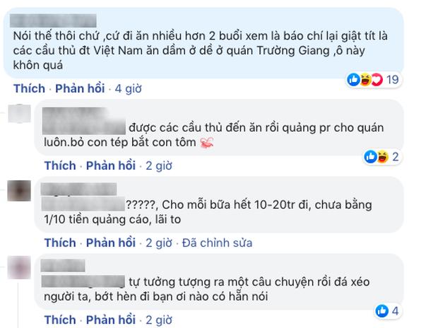 Mạnh miệng bao trọn đời đội tuyển Việt Nam tại quán mình, Trường Giang bị dân mạng hỏi đểu: Anh chắc chưa? - Ảnh 4.