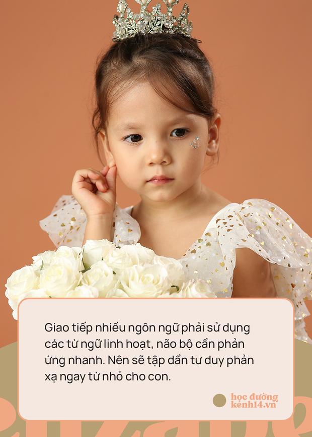 Bé gái 3 tuổi thạo 5 ngôn ngữ: Bố cho rằng việc dạy con quả khế, thanh long... phát âm Tiếng Anh thế nào là rất dở! - Ảnh 4.