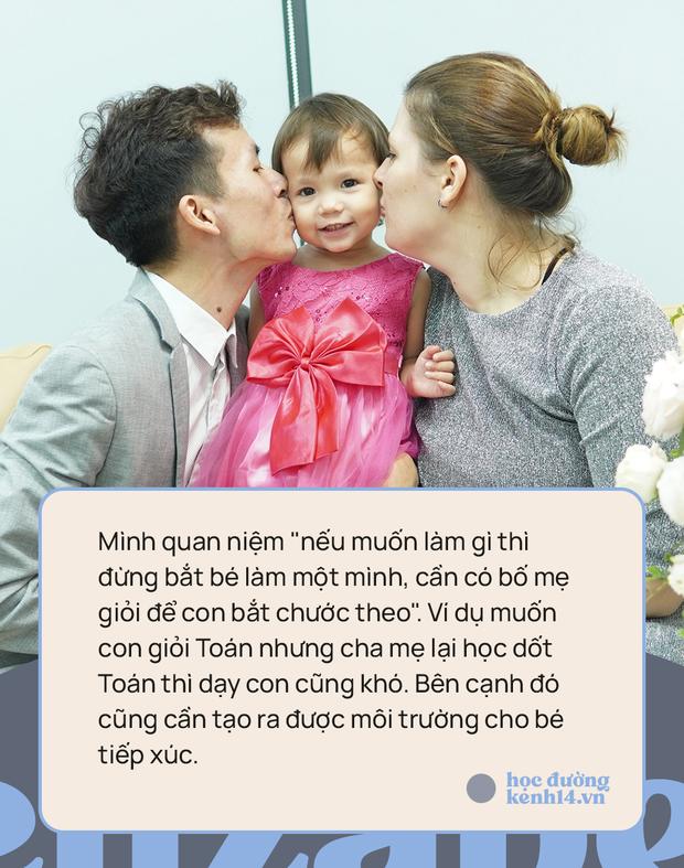 Bé gái 3 tuổi thạo 5 ngôn ngữ: Bố cho rằng việc dạy con quả khế, thanh long... phát âm Tiếng Anh thế nào là rất dở! - Ảnh 5.