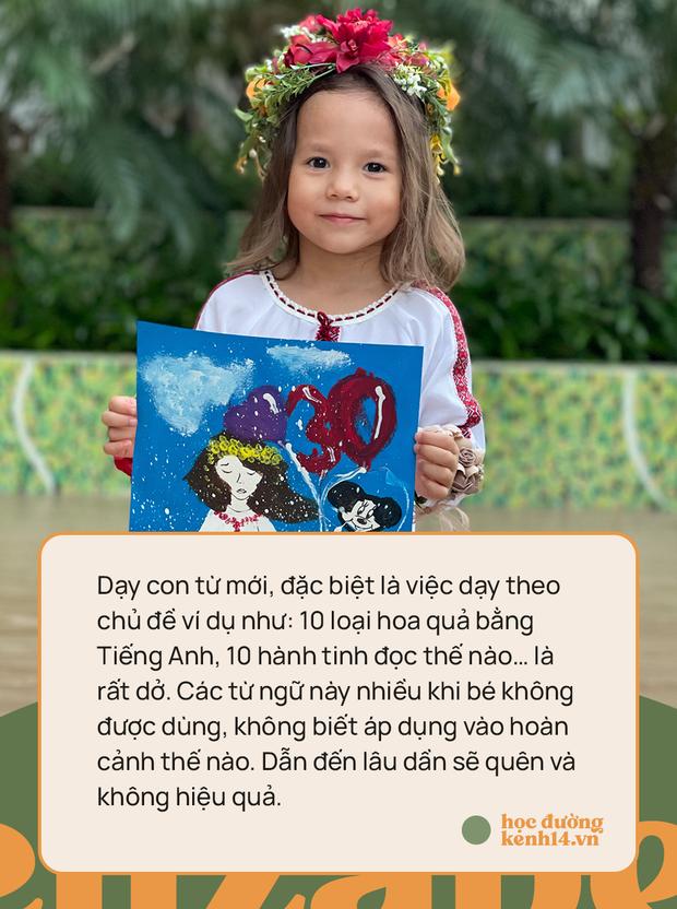 Bé gái 3 tuổi thạo 5 ngôn ngữ: Bố cho rằng việc dạy con quả khế, thanh long... phát âm Tiếng Anh thế nào là rất dở! - Ảnh 7.