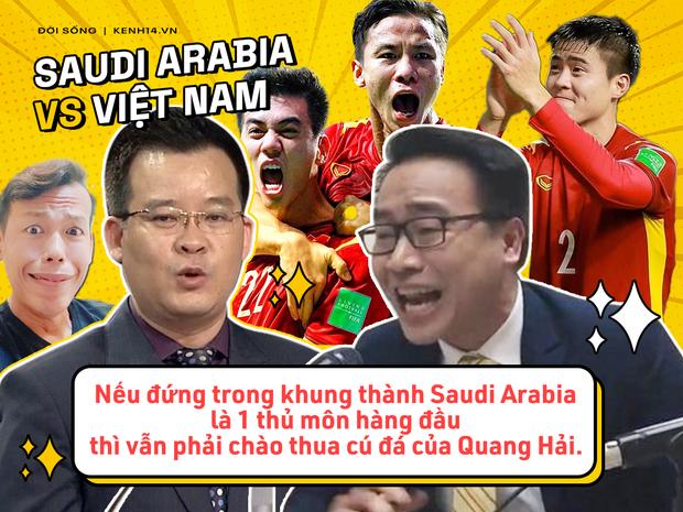 Rổ quote đi vào lòng người của bộ đôi BLV Biên Cương - Tuấn Anh ở trận Việt Nam gặp Saudi Arabia - Ảnh 3.