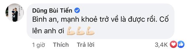 Im lặng khi ĐT Việt Nam thi đấu, thủ môn Bùi Tiến Dũng lại nói với Duy Mạnh điều này sau vụ thẻ đỏ oan nghiệt - Ảnh 3.