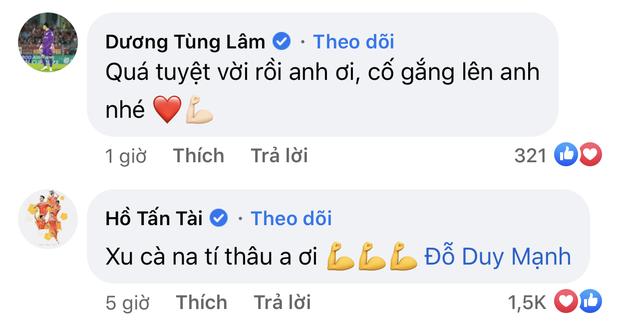Im lặng khi ĐT Việt Nam thi đấu, thủ môn Bùi Tiến Dũng lại nói với Duy Mạnh điều này sau vụ thẻ đỏ oan nghiệt - Ảnh 5.