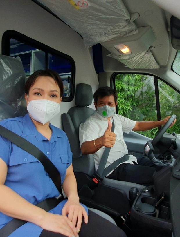 NS Việt Hương chuyển nóng 400 triệu mua xe cứu thương thứ 5 trong tháng, công khai nhận 192 triệu đồng từ 1 nghệ sĩ Vbiz? - Ảnh 6.