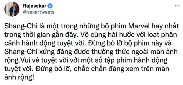 Shang-Chi vừa chiếu đã nhận số điểm chạm nóc, vượt qua Endgame và phá đảo Marvel: Bộ phim hoàn hảo từ đầu tới cuối! - Ảnh 8.