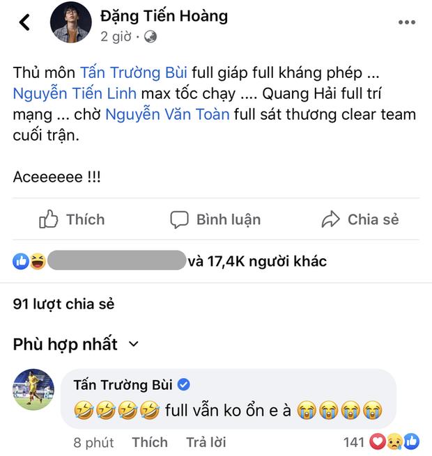 Ông trùm MXH Tấn Trường nói gì sau trận thua đáng tiếc của ĐT Việt Nam? - Ảnh 4.
