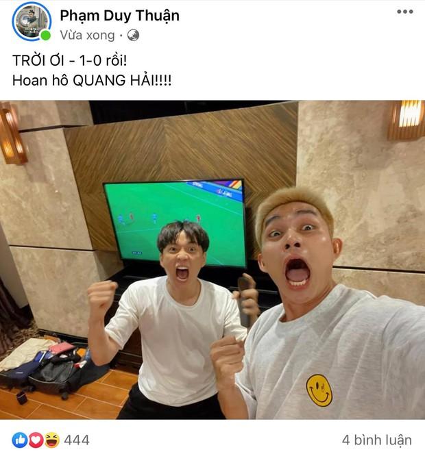 Tuyển Việt Nam ghi bàn mở tỉ số ngay 3 phút đầu giờ, dàn sao Running Man và cả showbiz vỡ oà: Quá đỉnh! - Ảnh 2.