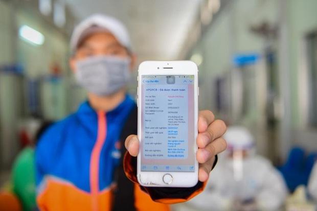 Ứng dụng công nghệ trong xét nghiệm Covid-19: Giảm 50% nhân lực y tế, người dân và tài xế hào hứng vì thuận tiện, tiết kiệm thời gian - Ảnh 6.
