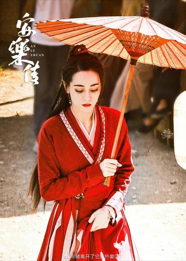 Địch Lệ Nhiệt Ba che ô đẹp như mơ trong An Lạc Truyện, netizen lại phê phán này là học Triệu Lộ Tư hả trời? - Ảnh 3.