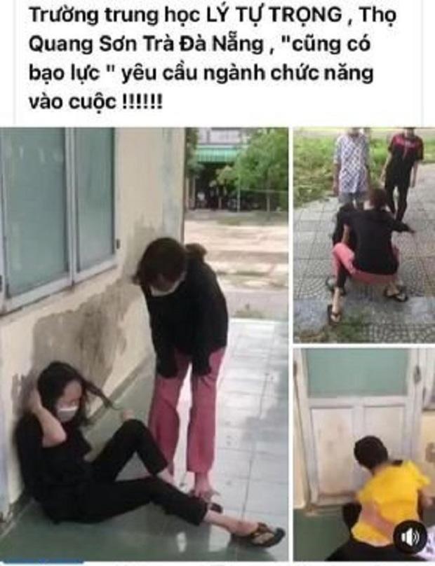 Xôn xao clip nữ sinh lớp 7 ở Đà Nẵng bị nhóm bạn cũ hành hung tập thể - Ảnh 1.