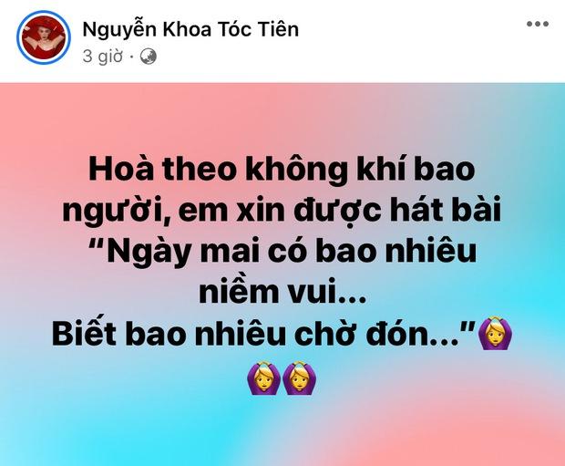 Vbiz nôn nao như 30 Tết sau gần 90 ngày Sài Gòn giãn cách: Tóc Tiên hát hit khủng, MC Quyền Linh mong 1 điều thấy mà thương! - Ảnh 2.