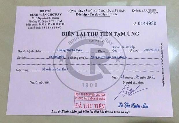 Làm giả biên lai Bệnh viện Chợ Rẫy lừa thu tiền tạm ứng viện phí - Ảnh 1.
