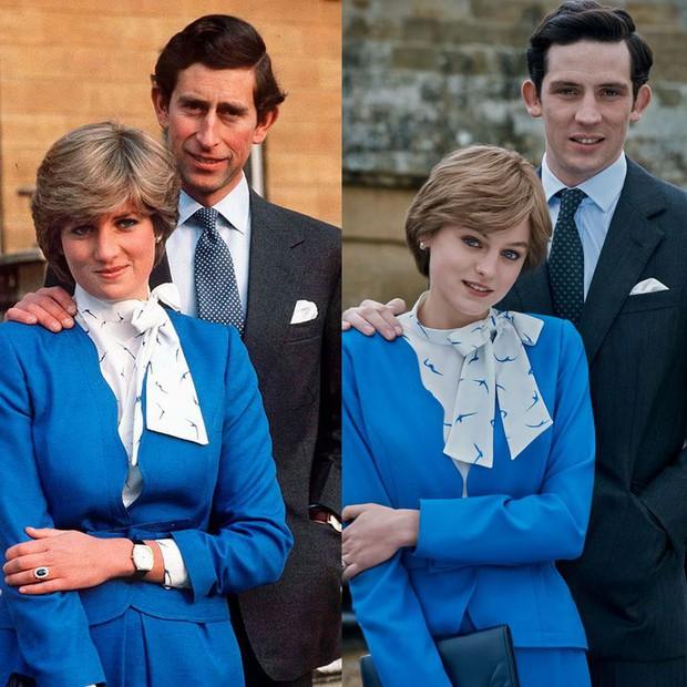 11 lần The Crown tái hiện xuất sắc Công nương Diana, sao y bản chính từ nhan sắc tới trang phục: Nhìn không cẩn thận là lẫn lộn luôn! - Ảnh 4.