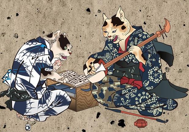 Quan niệm rùng mình về loài mèo của người Nhật Bản: Mèo già bắt đầu đứng thẳng, nói tiếng người và đi giết chủ cũ! - Ảnh 3.