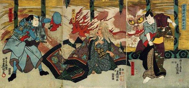 Quan niệm rùng mình về loài mèo của người Nhật Bản: Mèo già bắt đầu đứng thẳng, nói tiếng người và đi giết chủ cũ! - Ảnh 4.