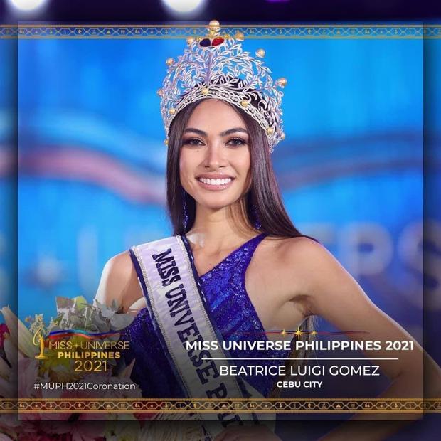 Tân Hoa hậu Hoàn vũ Philippines - Đối thủ của Kim Duyên thuộc cộng đồng LGBT, đã công khai bạn gái 5 năm! - Ảnh 1.