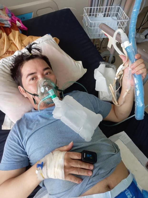BS cứu cháu với, cháu còn 3 con nhỏ, vợ cháu vừa mất: Lời cầu cứu của bệnh nhân bị Covid-19 ăn thủng phổi và kỳ tích ở BV tầng 3 - Ảnh 1.