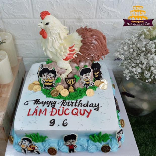 Một đại gia khét tiếng ở Việt Nam khoe quà sinh nhật mà ai cũng run rẩy, nguyên nhân đến từ chiếc bánh kem hiếm gặp  - Ảnh 3.