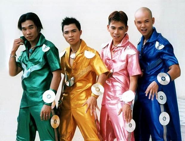 """Bìa album thời """"ơ kìa"""" của sao Việt: Mỹ Tâm nổi loạn với tóc tém, 1088 chuẩn """"oppa"""" nam thần, nhìn sang MTV """"giận tím người"""" - Ảnh 5."""