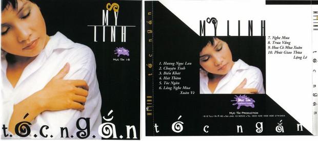 """Bìa album thời """"ơ kìa"""" của sao Việt: Mỹ Tâm nổi loạn với tóc tém, 1088 chuẩn """"oppa"""" nam thần, nhìn sang MTV """"giận tím người"""" - Ảnh 15."""