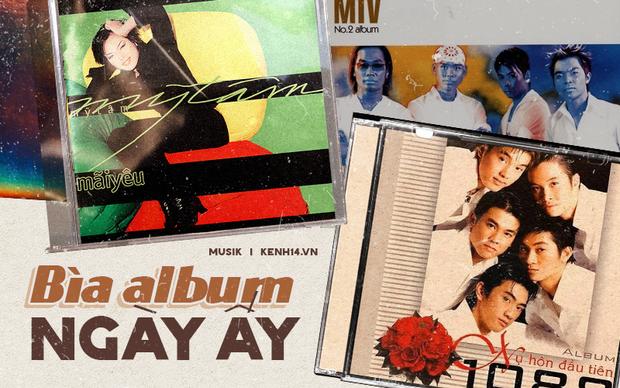 """Bìa album thời """"ơ kìa"""" của sao Việt: Mỹ Tâm nổi loạn với tóc tém, 1088 chuẩn """"oppa"""" nam thần, nhìn sang MTV """"giận tím người"""" - Ảnh 1."""