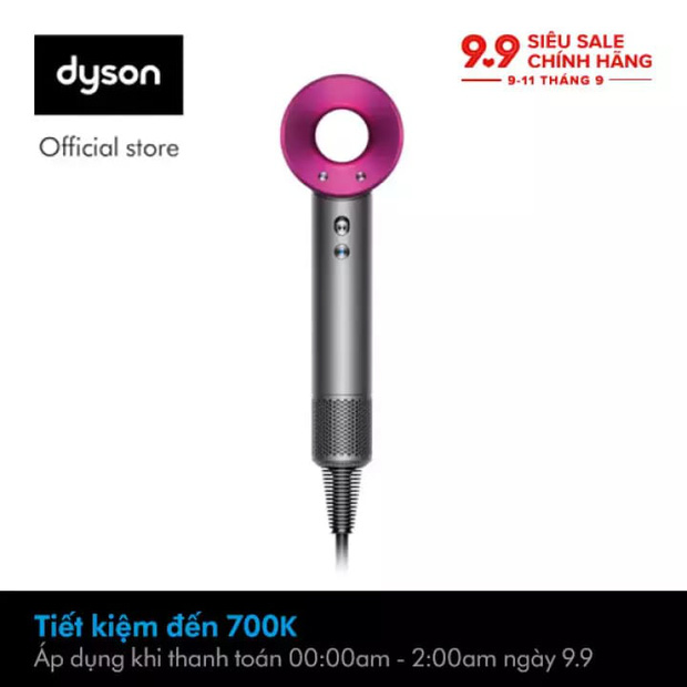 Cực ít khi sale nhưng Dyson sẽ giảm giá hàng loạt vào 9/9 tới, đã thế còn cho trả góp 0% - Ảnh 3.
