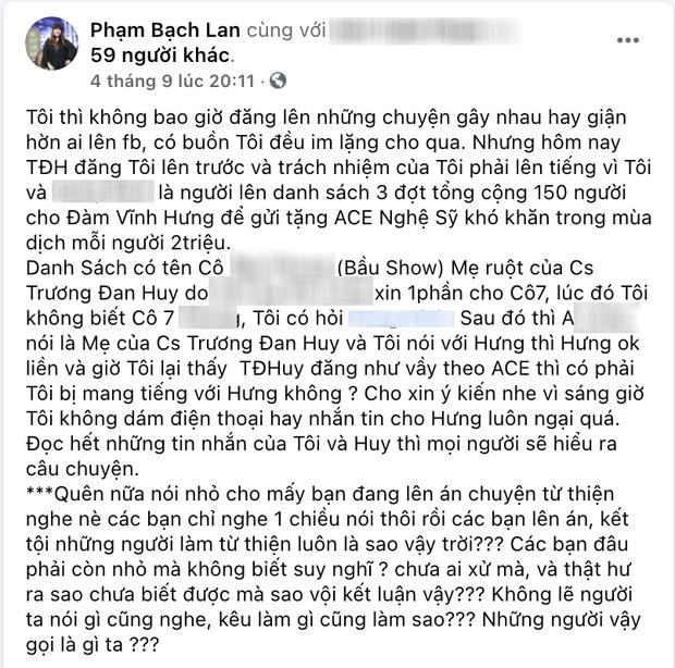1 nam ca sĩ gây sốc khi ủng hộ nữ doanh nhân dù vừa thay mẹ ruột nhận 2 triệu hỗ trợ từ Đàm Vĩnh Hưng - Ảnh 3.