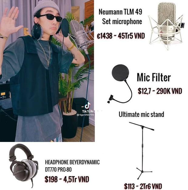 Bóc giá mẫu tai nghe cùng mic của Sơn Tùng M-TP, đọc xong chỉ muốn xỉu up xỉu down vì quá khủng - Ảnh 3.