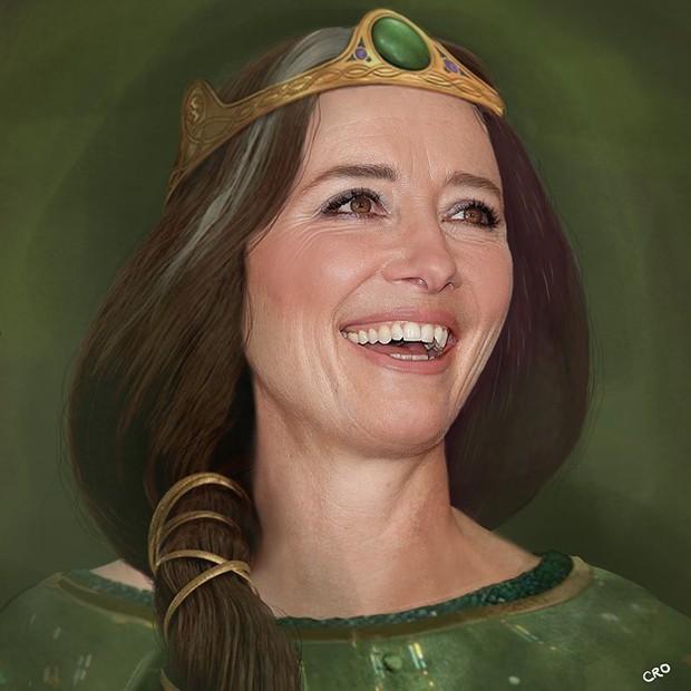 Ngất ngây dàn nhân vật Disney với nhan sắc của diễn viên lồng tiếng: Elsa đẹp xuất sắc, nhưng cô em gái Anna mới gọi là giống y bản gốc! - Ảnh 3.