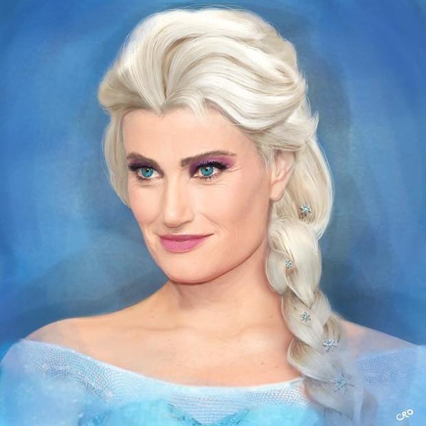 Ngất ngây dàn nhân vật Disney với nhan sắc của diễn viên lồng tiếng: Elsa đẹp xuất sắc, nhưng cô em gái Anna mới gọi là giống y bản gốc! - Ảnh 1.
