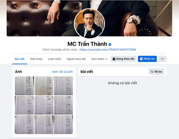 Bài đăng sao kê của Trấn Thành càn quét MXH: Gần 70 ngàn bình luận, 10 ngàn chia sẻ trong chưa đầy 1 giờ - Ảnh 3.