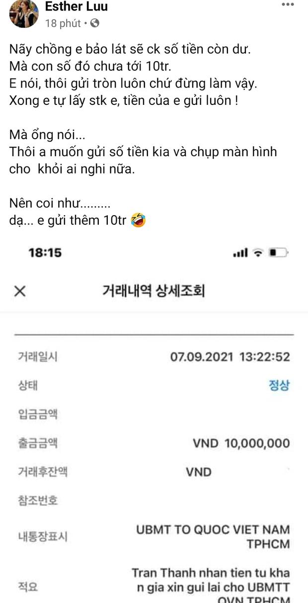 Hari Won cũng lên tiếng sau khi chồng tung 1.000 trang sao kê, thức trắng đêm cùng Trấn Thành làm 1 việc - Ảnh 2.