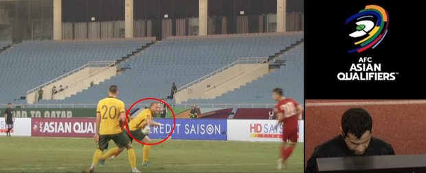 Cầu thủ Australia để bóng chạm tay: Bóng đập vào ngực tôi - Ảnh 2.